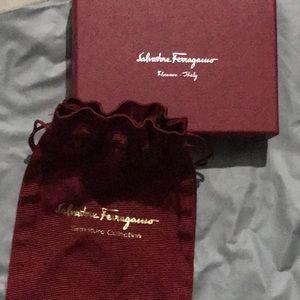 Salvatore Ferragamo Wallet box and Dustbag